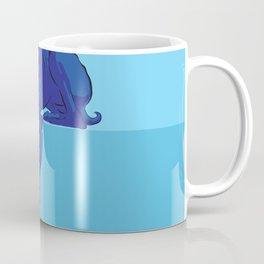 Blue/Grey hound Coffee Mug