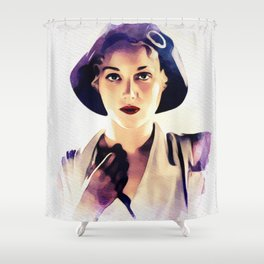 Leila Hyams, Vintage Actress Shower Curtain