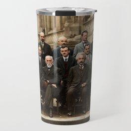 Solvay Conference Travel Mug