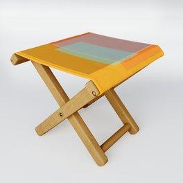 Glass Folding Stool