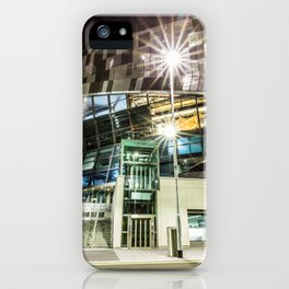 Tottenham Stadium by Night iPhone Case