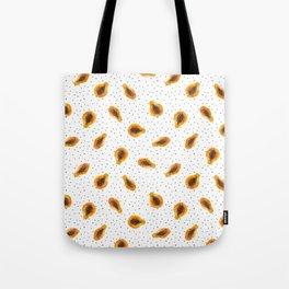 Papaya vibes || watercolor Tote Bag
