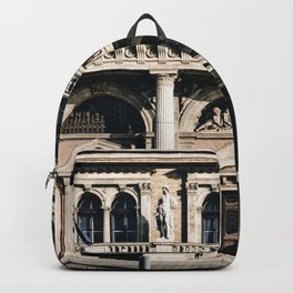Stunning Symmetrical Classic Budapest Facade Backpack