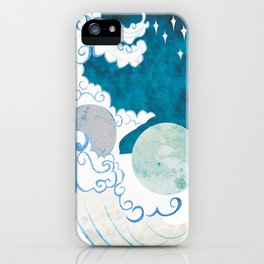Muse of Astronomy iPhone Case
