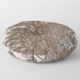 Rhea Canvas Print Floor Pillow