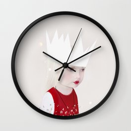 ivory towers Wall Clock
