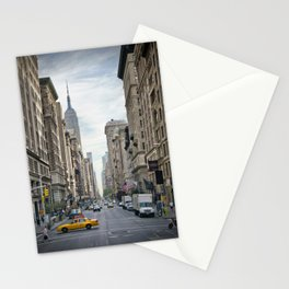 NEW YORK CITY 5th Avenue Stationery Cards