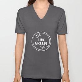 Live Green Climate Unisex V-Neck