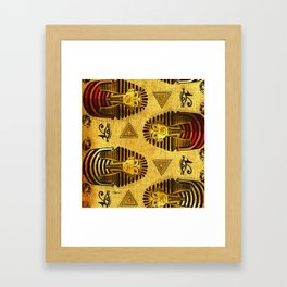 Pharaonic Framed Art Print