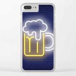 Cerveza Clear iPhone Case