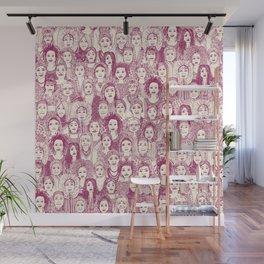 WOMEN OF THE WORLD CHERRY Wall Mural