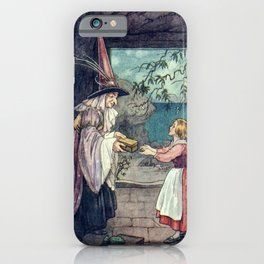 """""""Open it When You Reach Home"""" by Helen Jacobs 1918 iPhone Case"""