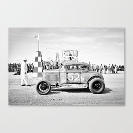 Beach Racing Canvas Print