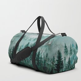 Misty Forest Duffle Bag