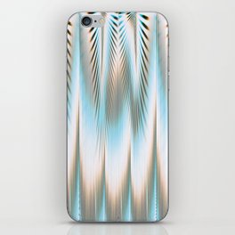 Vibrating Lines  iPhone Skin