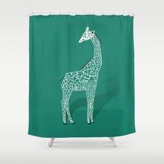 Animal Kingdom: Giraffe III Shower Curtain