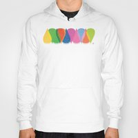 bonjour Hoodies featuring Bonjour by Mauricio Cosío