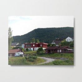 Norsk-Neighborhood Metal Print