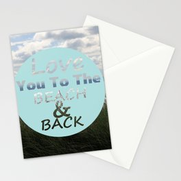 Beach And Back Stationery Cards