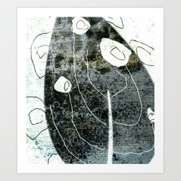 Blatt Art Art Print