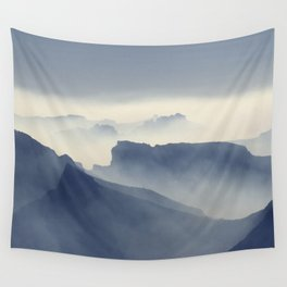 Absarokas Mountains Wall Tapestry