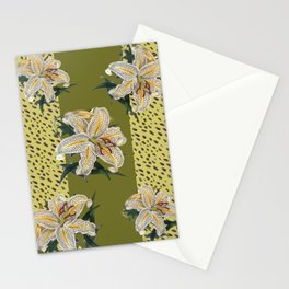 Tiger Lillys and Dots Stationery Cards