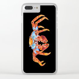 Sally Lightfoot Crab Clear iPhone Case
