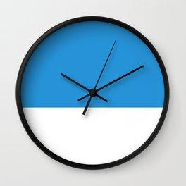 Blue Top Wall Clock