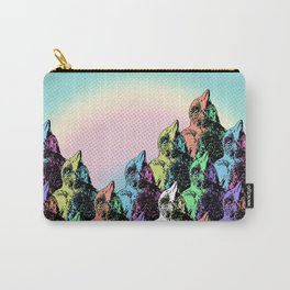 Contra Mundum Rainbow Magpies! Carry-All Pouch