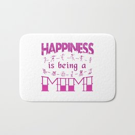 Happiness is Being a MIMI Bath Mat