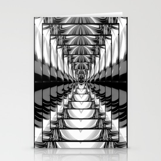 Abstract.Black+White. Stationery Cards