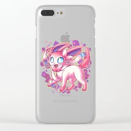 Silly Sylveon Clear iPhone Case