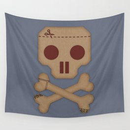 Paper Pirate Wall Tapestry