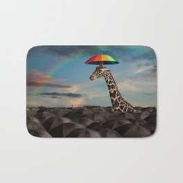 Stand Out From the Crowd Bath Mat