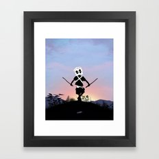 Deapool Kid Framed Art Print