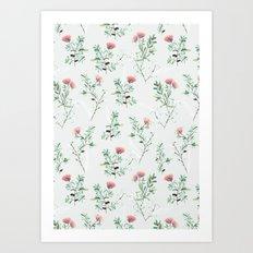 springtime pink Art Print