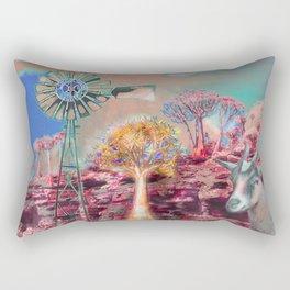 Wind Punk Quiver Heat Rectangular Pillow