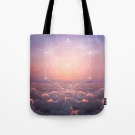 The Sun is but a Morning Star Tote Bag