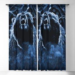 CHIEF CHARGING BEAR Blackout Curtain