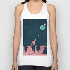 Once Upon A Time on Mars or Children of Mars Unisex Tank Top
