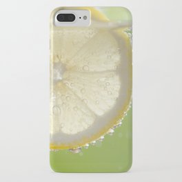 Bubbly Lemon - Lime Green iPhone Case