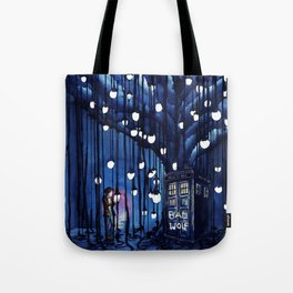 Doctor Who Journey Tote Bag
