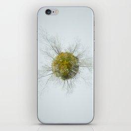 Memories of green iPhone Skin