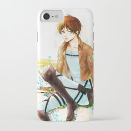 Blue Melody iPhone Case