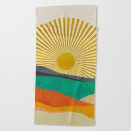 hope sun Beach Towel