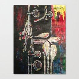 Clarinet 2.0 Canvas Print