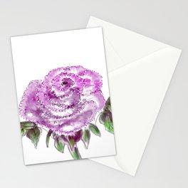 Lavender Rose Stationery Cards