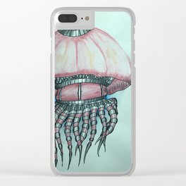 Jellyfish I Clear iPhone Case