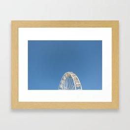 High In The Blue Sky 1 Framed Art Print