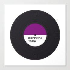 DEEP PURPLE MUSIC COLOUR Canvas Print